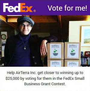 Vote for us on the FedEx Small Business Grant Contest!